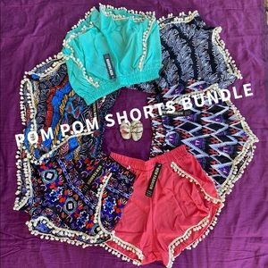 Pom Pom shorts bundle